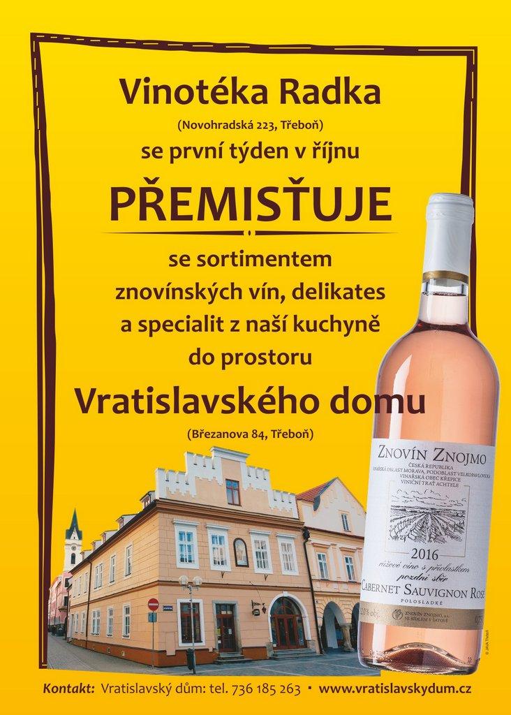 Stěhování do Vratislavského domu