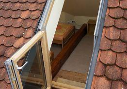 Z mezonetu je přístup na terasu na střeše Vratislavského domu.