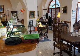 Interiér restaurace Vratislavský dům